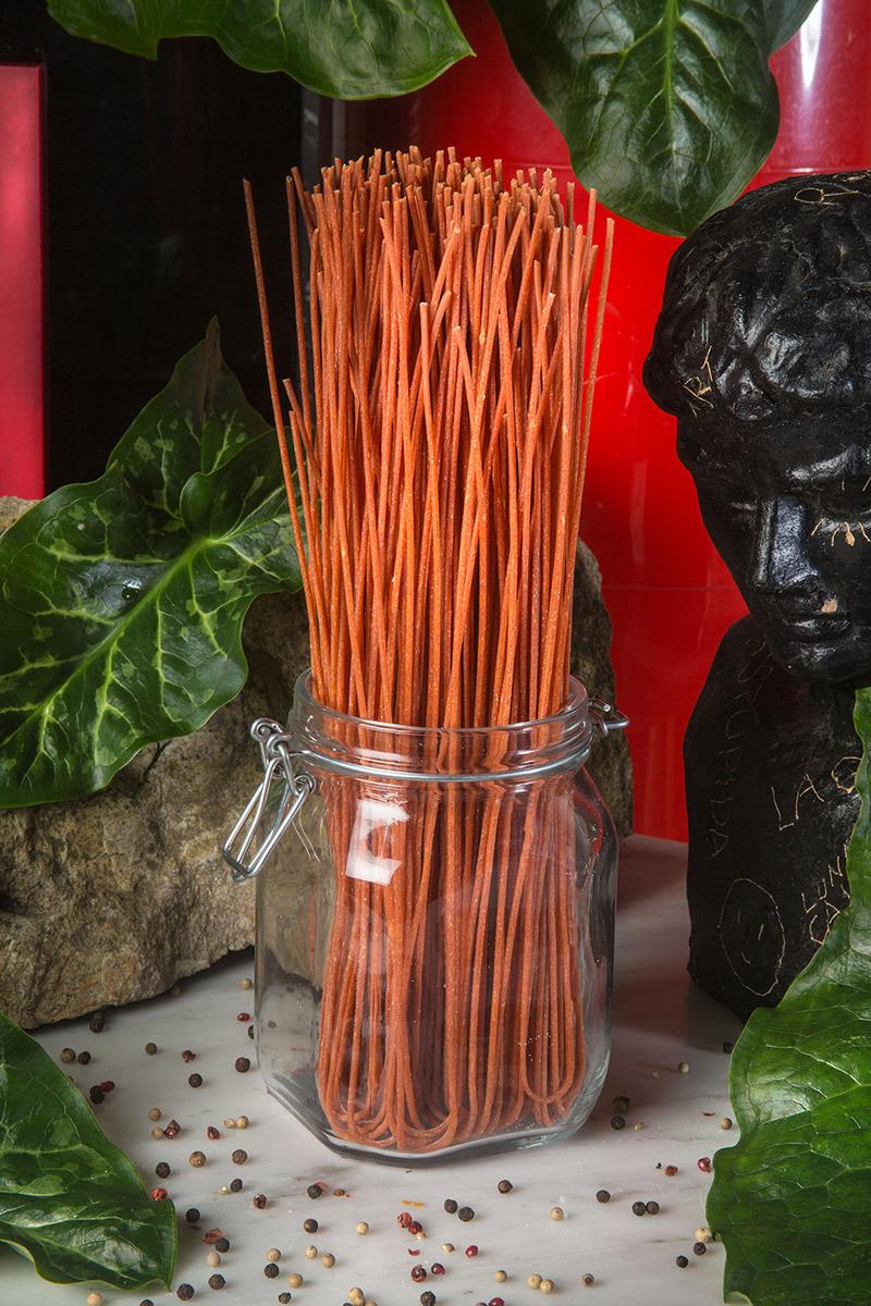 Spaghetti al peperoncino Habanero giallo