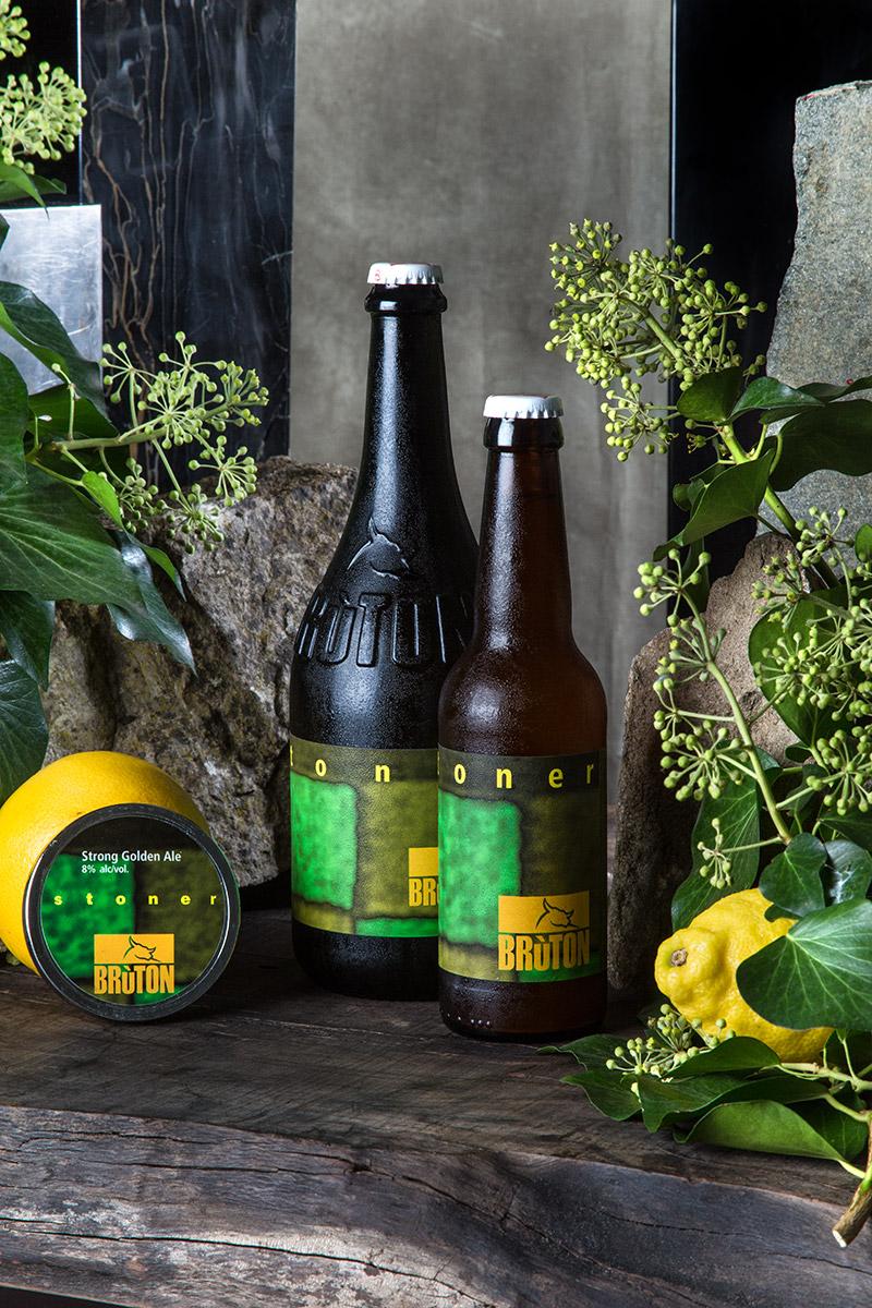 Brùton Stoner — Belgian Strong Golden Ale