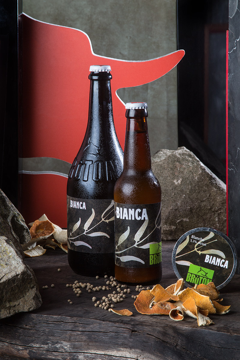 Brùton Bianca —  Birra ad alta fermentazione