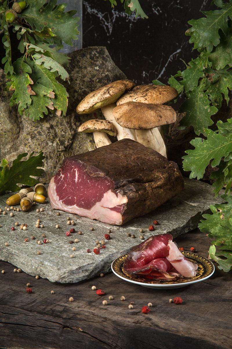 Linchetto al Fungo porcino — Controfiletto di Manzo