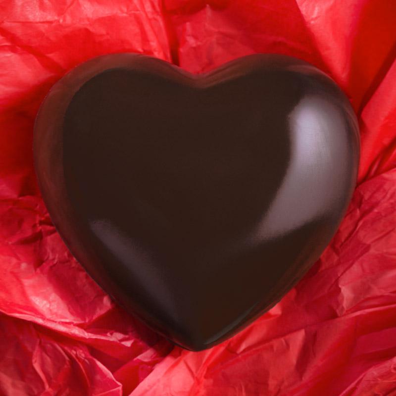Cuore di cioccolato Caniparoli