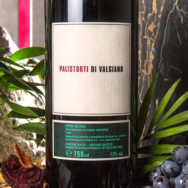 Palistorti 2017 — Vino Rosso