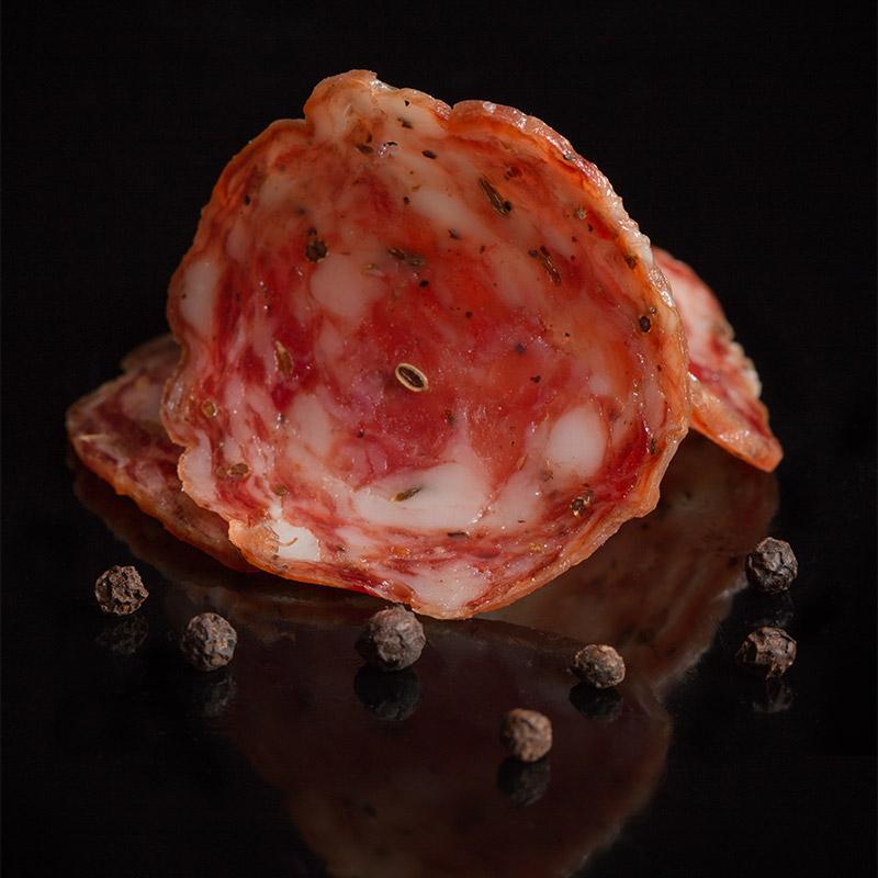 Sbriciolona — Salame speziato tradizionale