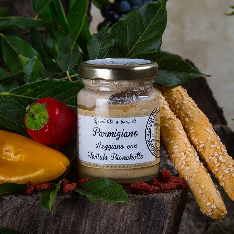 Crema di Parmigiano Reggiano con Tartufo Bianco