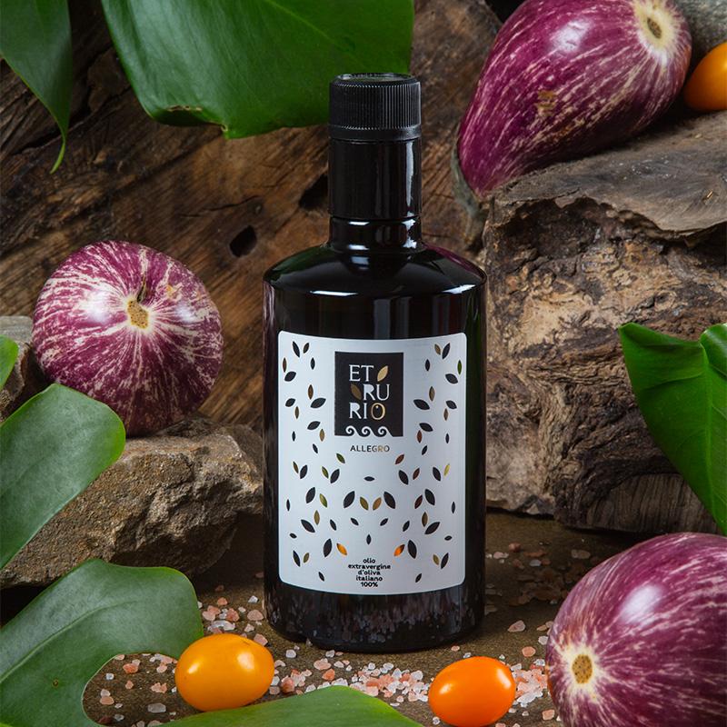 Olio Extravergine di Oliva 100% Italiano -  Allegro