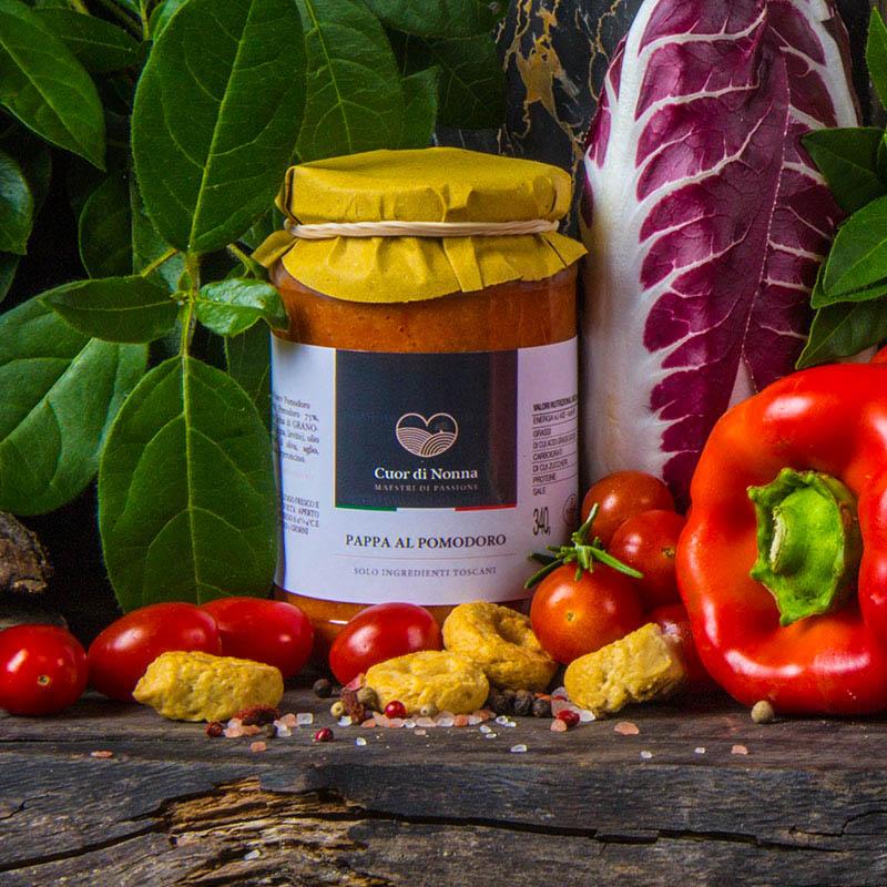 Pappa al Pomodoro —  Solo Ingredienti Toscani