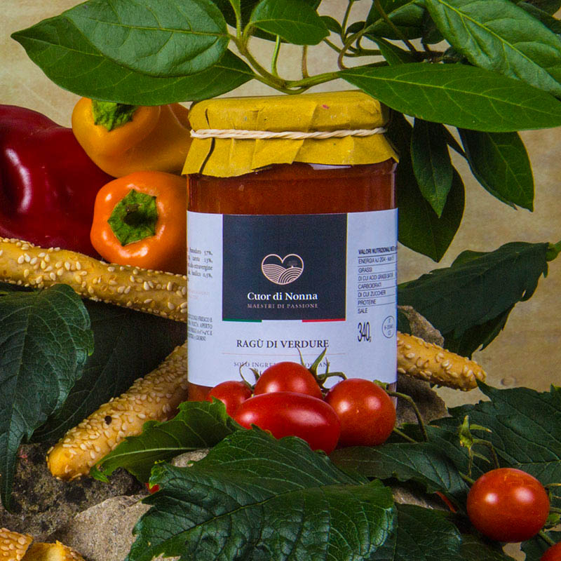 Ragù di Verdure -  Solo Ingredienti Toscani