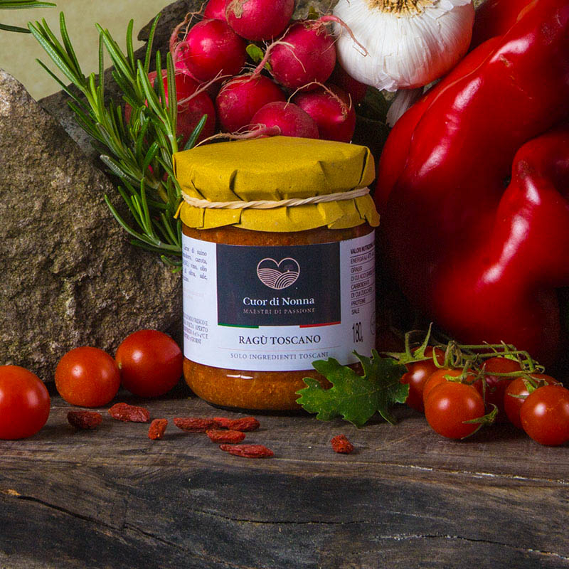 Ragù Toscano -  Solo Ingredienti Toscani