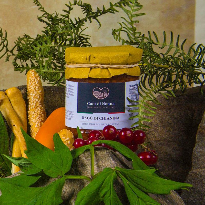 Ragù di Chianina Rosso — Solo Ingredienti Toscani